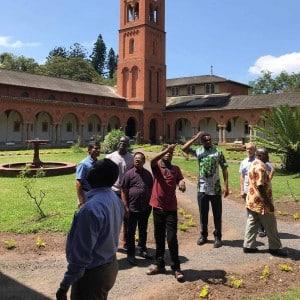 Besuch der Klosteranlage Mariannhill Südafrika