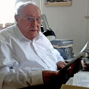 Pater Fridolin Bleuel SAC wird 95 Jahre alt