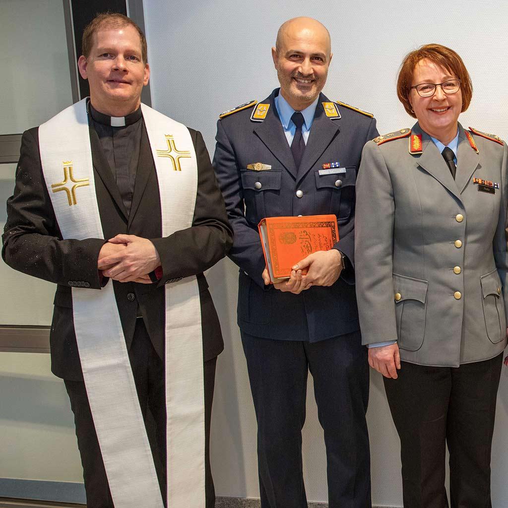 Pater Roman Fries SAC als Klinikseelsorger