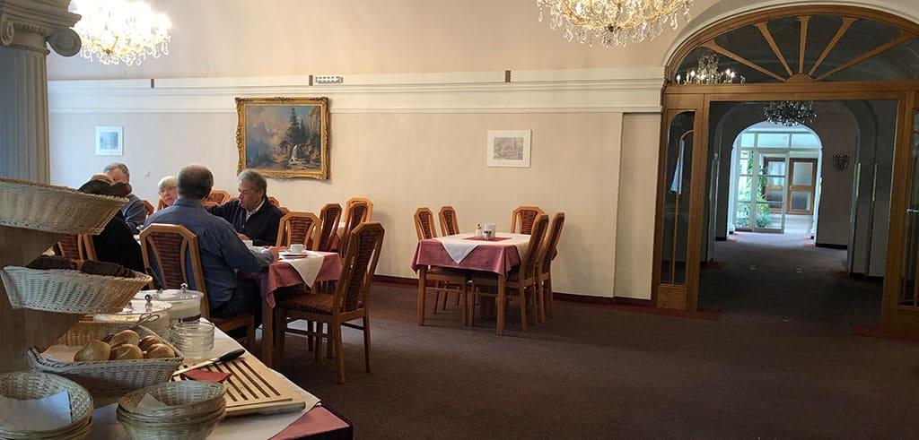 Frühstücksbuffet im Pallotti-Haus in Wien