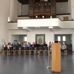 Andacht in der Pallotti Kirche Friedberg