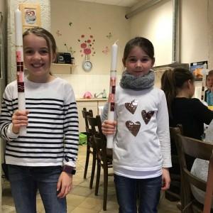 Kreative Kerzengestaltung in Limburg