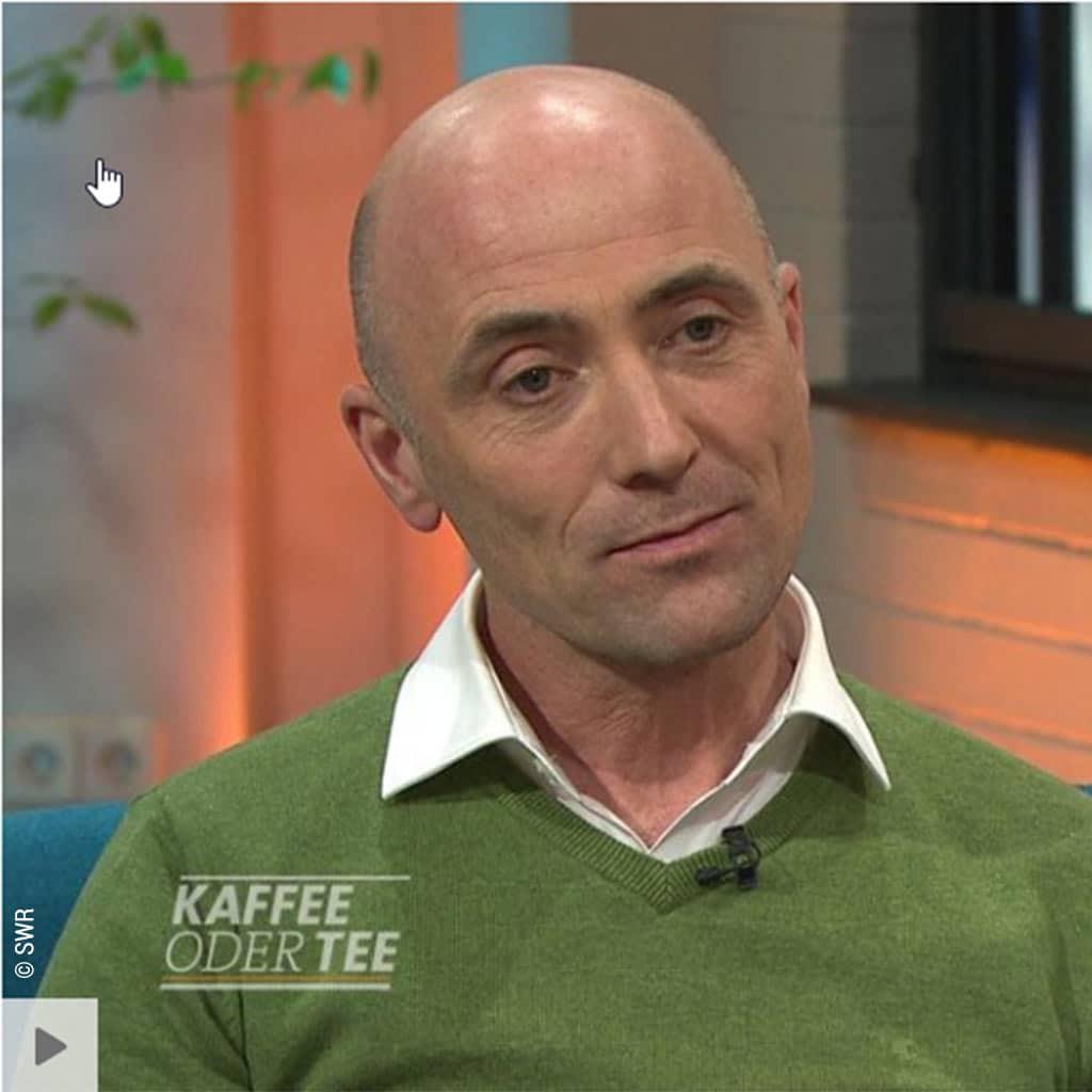 Pater Reinhold Maise SAC beim SWR Fernsehen 2019