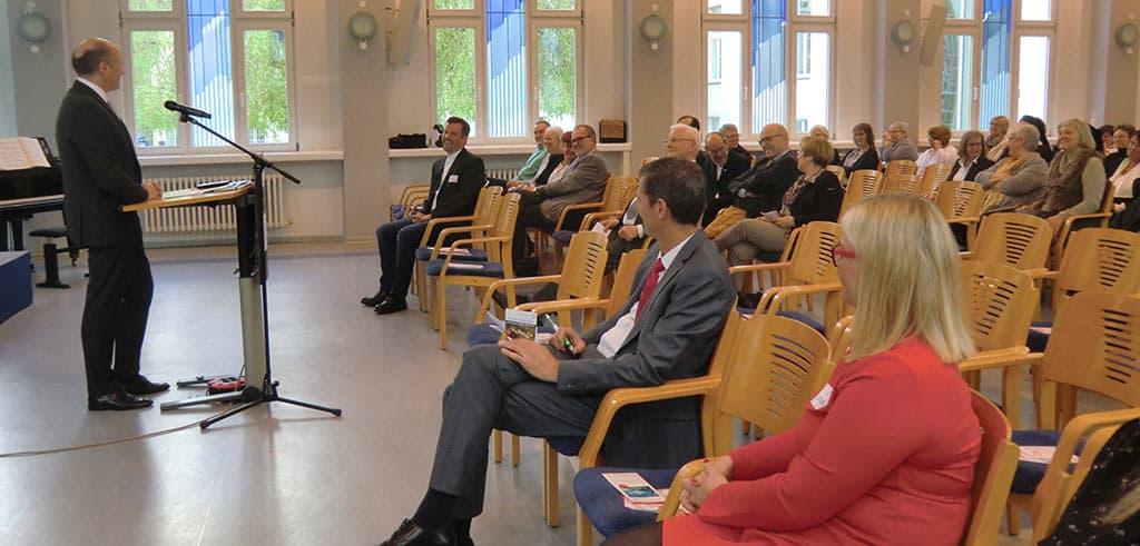 Festansprache durch Thomas Berenz beim Forum Vinzenz Pallotti in Vallendar