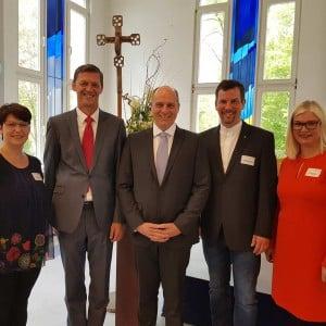 Leitungsteam und Festredner Forum Vinzenz Pallotti Vallendar