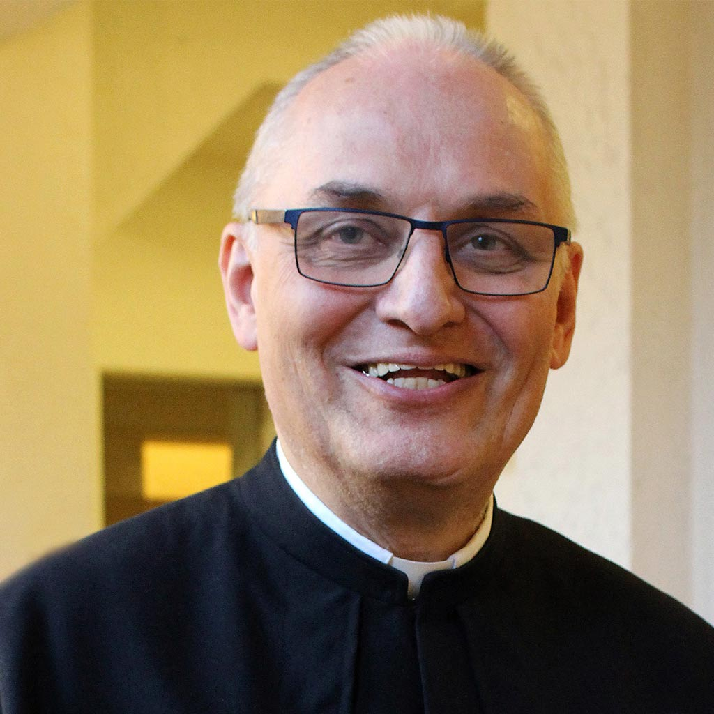 Pater Hubert Lenz SAC