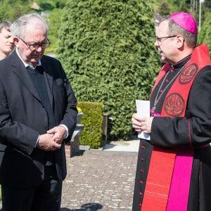 Vizepostulator Prof. Probst und Bischof Bätzing