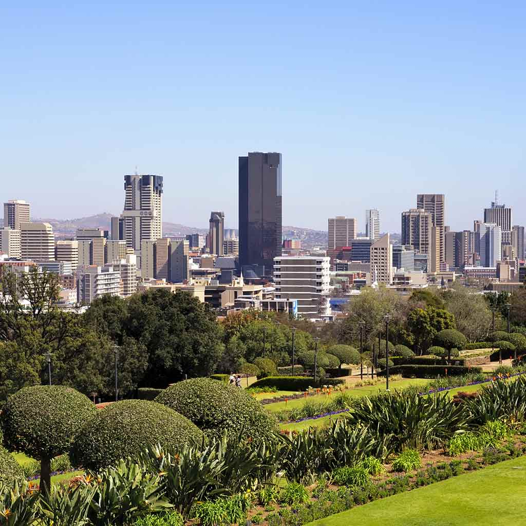 Pretoria ist die Hauptstadt Südafrikas