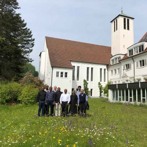 Treffen ausländischer Mitbrüder im Provinzialat der Pallottiner