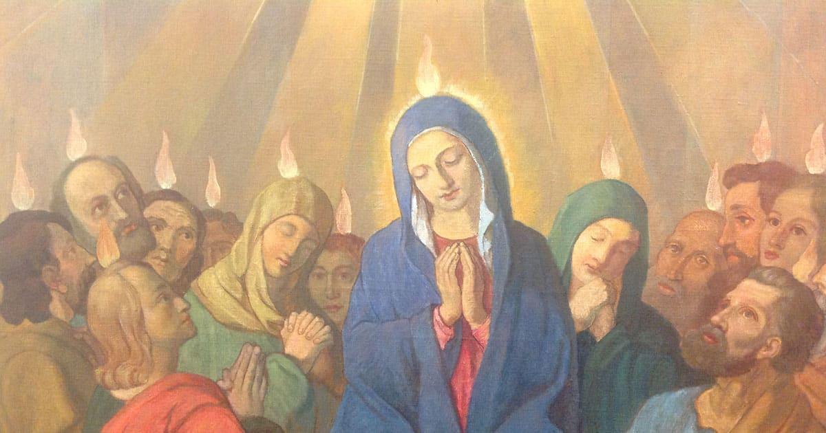 Maria Königin der Apostel - Erneuerung der Kirche - Pfingsten 2019