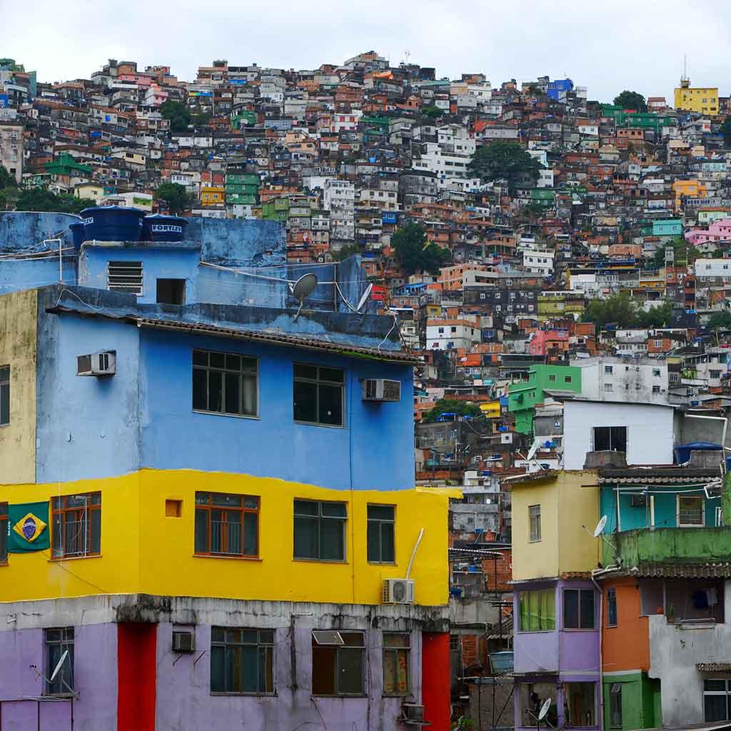 Rio Brasilien Favela