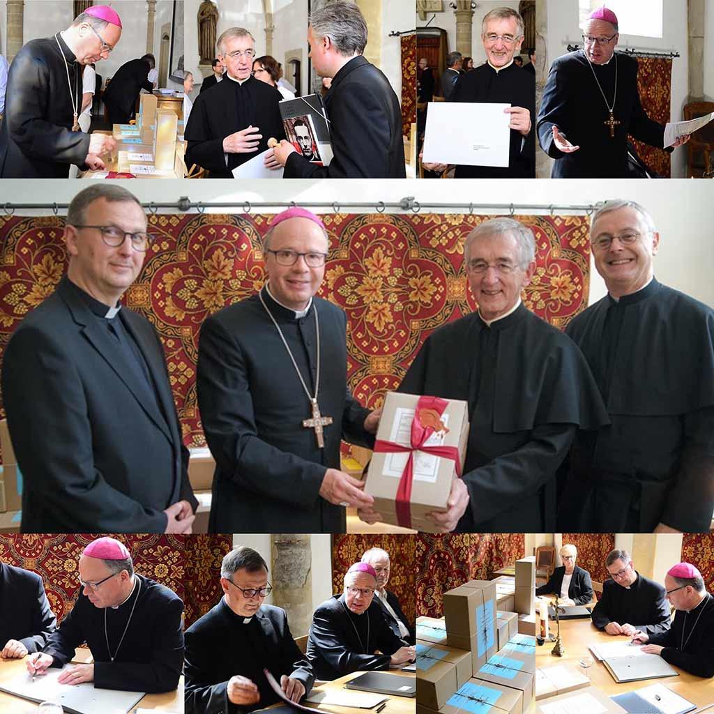 Abschlussitzung des diözesanen Seligsprechungsprozesses von Pater Franz Reinisch SAC