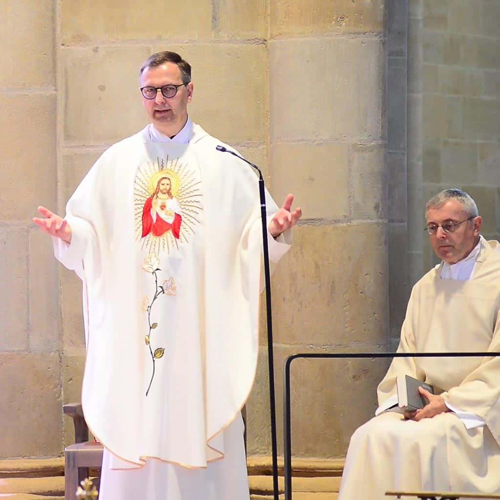 Festmesse zu Ehren Pater Franz Reinischs mit Prälat Dr. Georg Holkenbrink