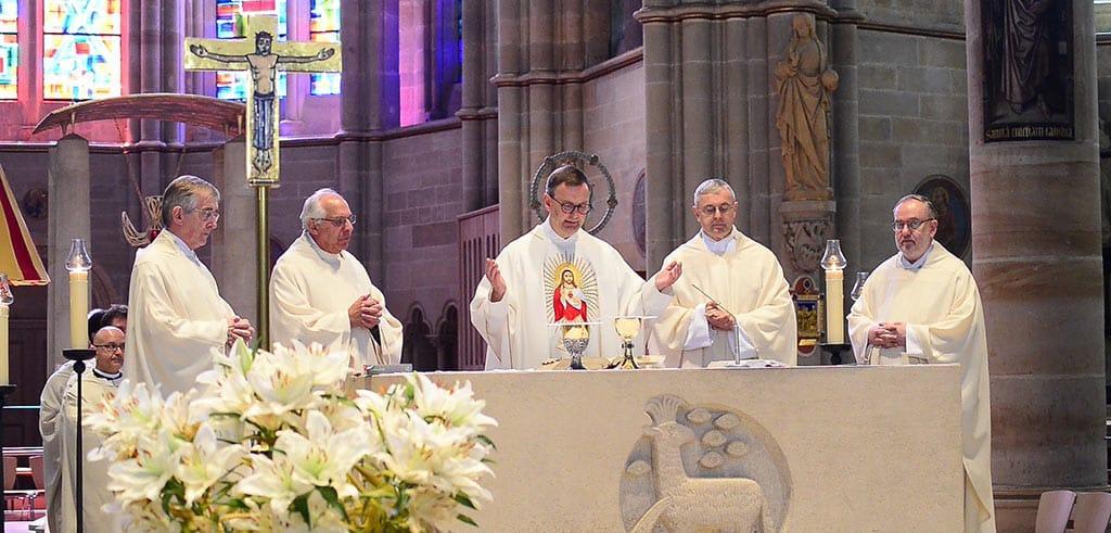 Liebfrauenkiche in Trier Festmesse für Pater Franz Reinisch