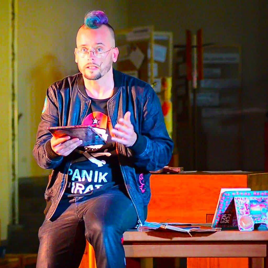 "Szenenbild aus ""Abgerungen"" mit dem Schauspieler Frank Musekamp"