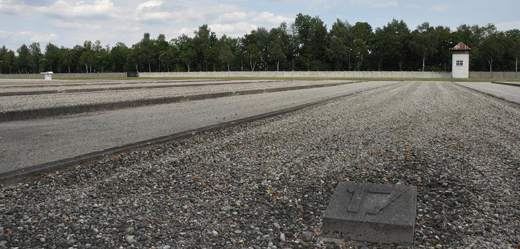 Block 17 in der Gedenkstätte KZ Dachau