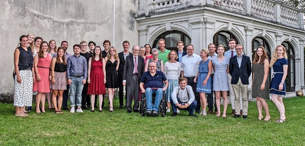 TeilnehmerInnen der Sommerakademie in Salzburg 2019