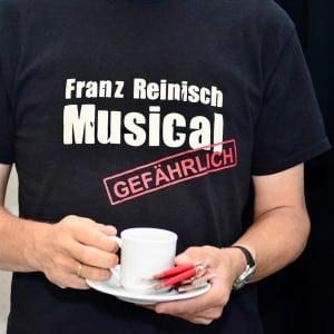 """Fan T-Shirt vom Franz Reinisch Musical """"Gefährlich"""""""