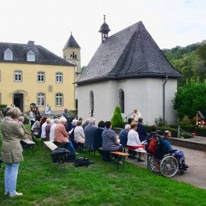Reinisch-Gedenktag 2019 am Grab von Pater Franz Reinisch neben der Schönstattkapelle in Vallendar