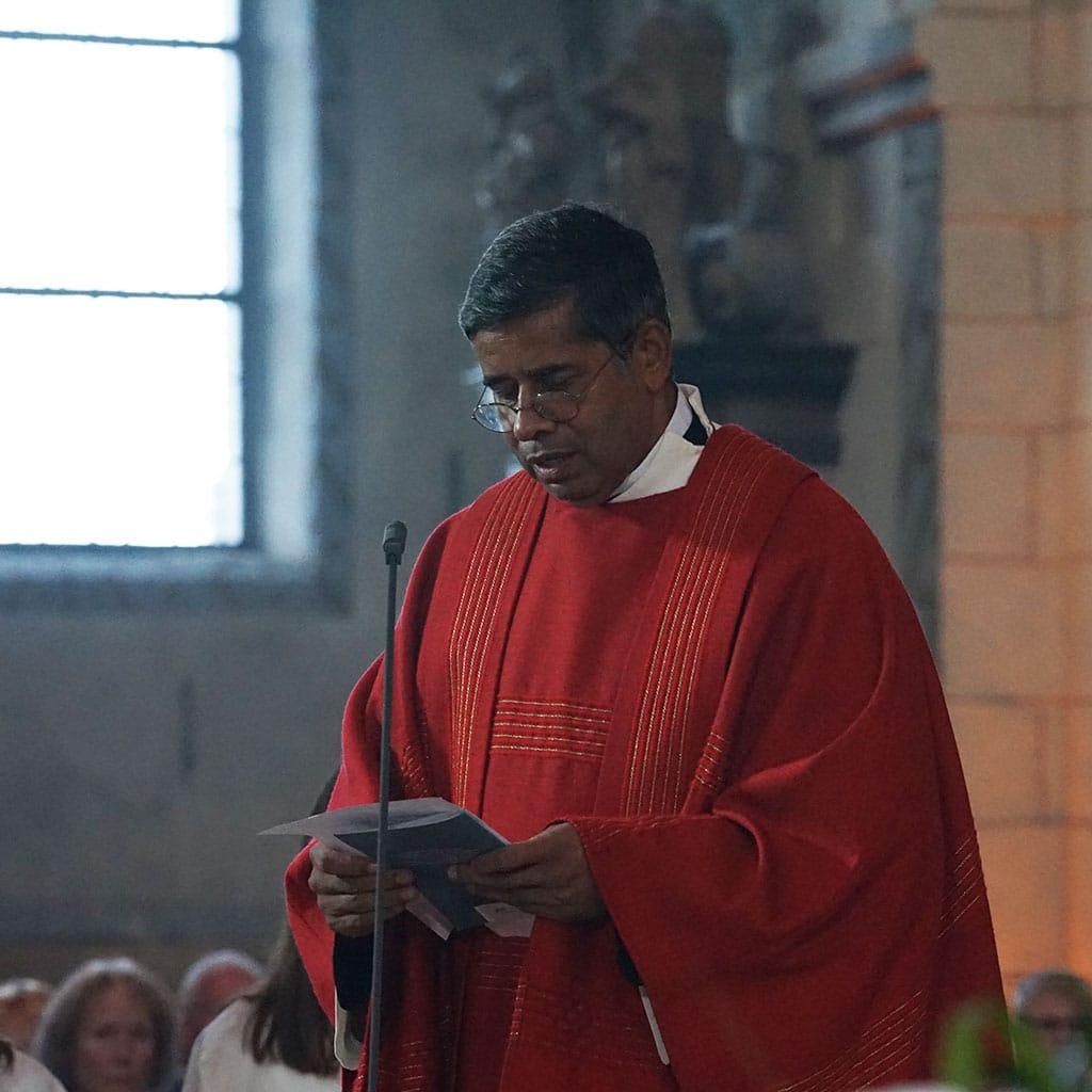 Pater Jacob Nampudakam SAC - Generalrektor der Pallottiner