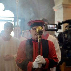 Einzug in den Limburger Dom