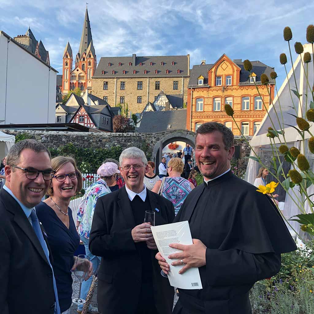 Seligsprechung Richard Henkes Feier im Bischofsgarten