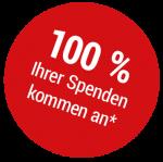 100 Proz Spenden