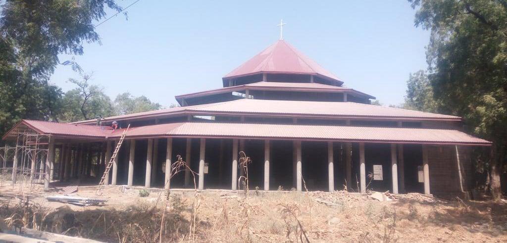 Kathedrale von Maroua im Norden Kameruns
