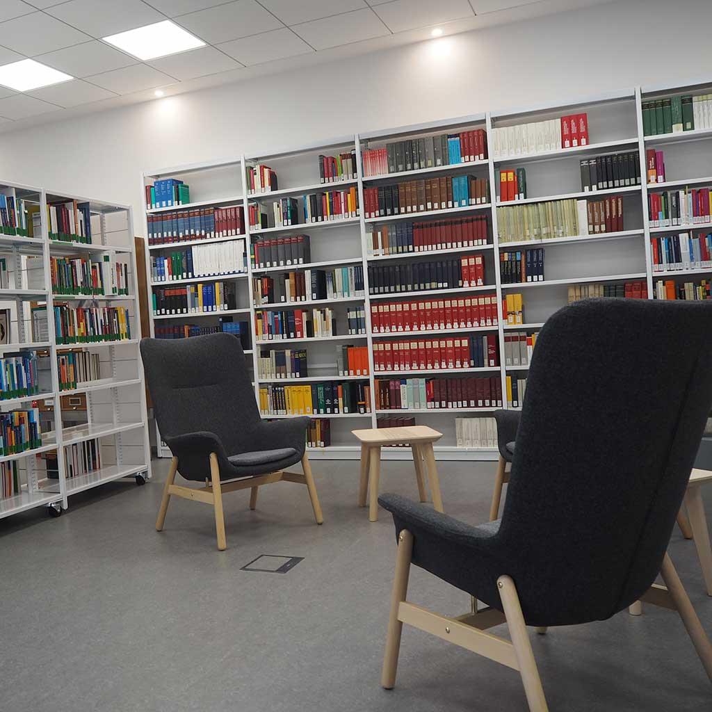 PTHV Lesesaal der Hochschulbibliothek