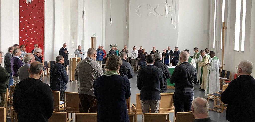 Missionsgottesdienst bei der Provinzversammlung der Pallottiner im bayerischen Friedberg 2019
