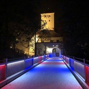 Fest für Pater Richard Henkes im Wittelsbacher Schloss in Friedberg (Bayern)
