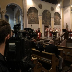 katholisch1.tv beim Dankgottesdienst für den Seligen Richard Henkes
