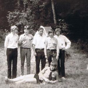 Zeltlager der Aspiranten 1970