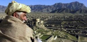 Blick auf Kabul in Afghanistan