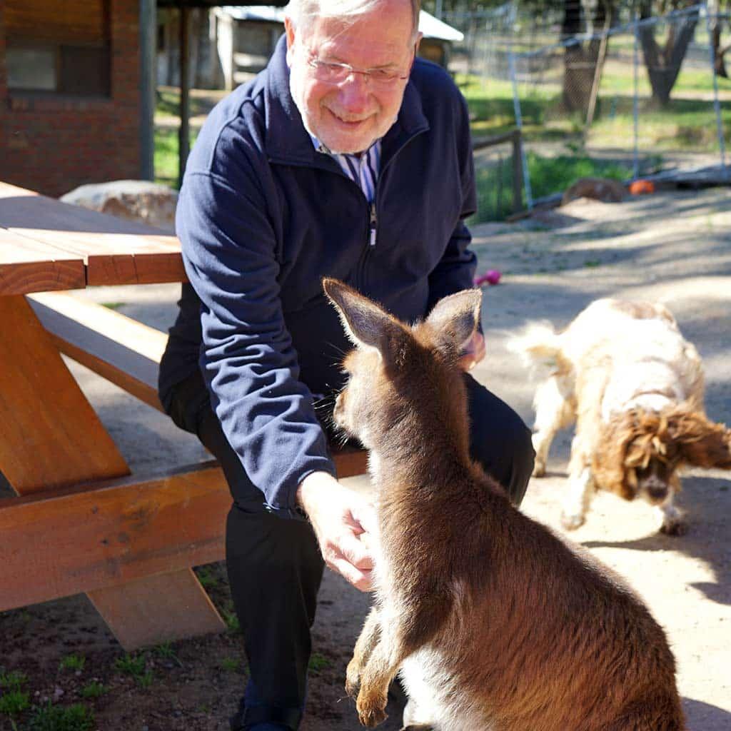 Pater Heinz Goldkuhle in Australien