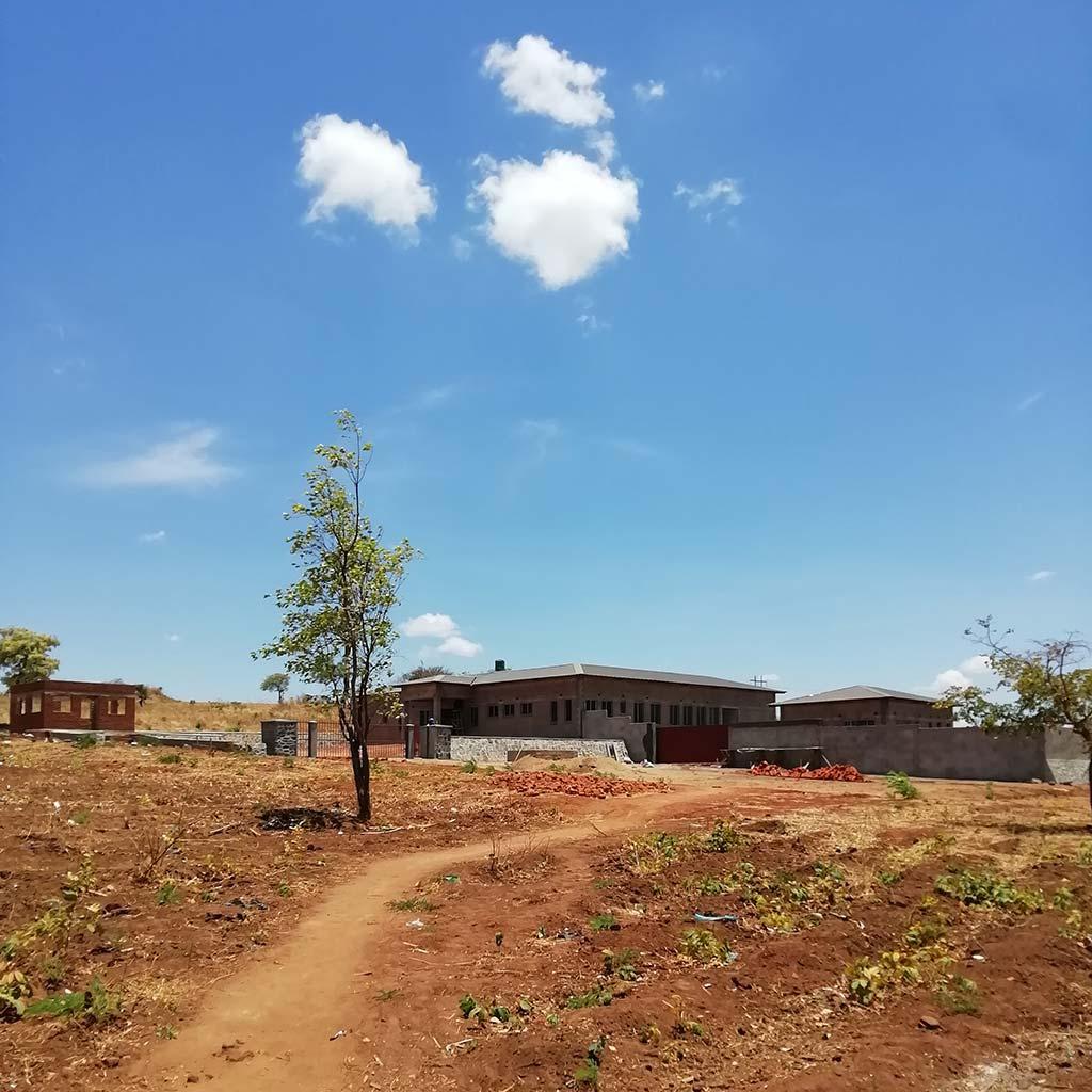 Pfarrhaus und Postulatsgebäude für die Pallottiner in Kaphatika Malawi