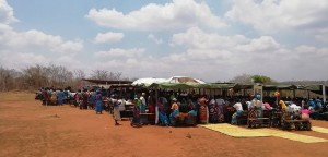 Open Air Kirche in Kaphatika Malawi