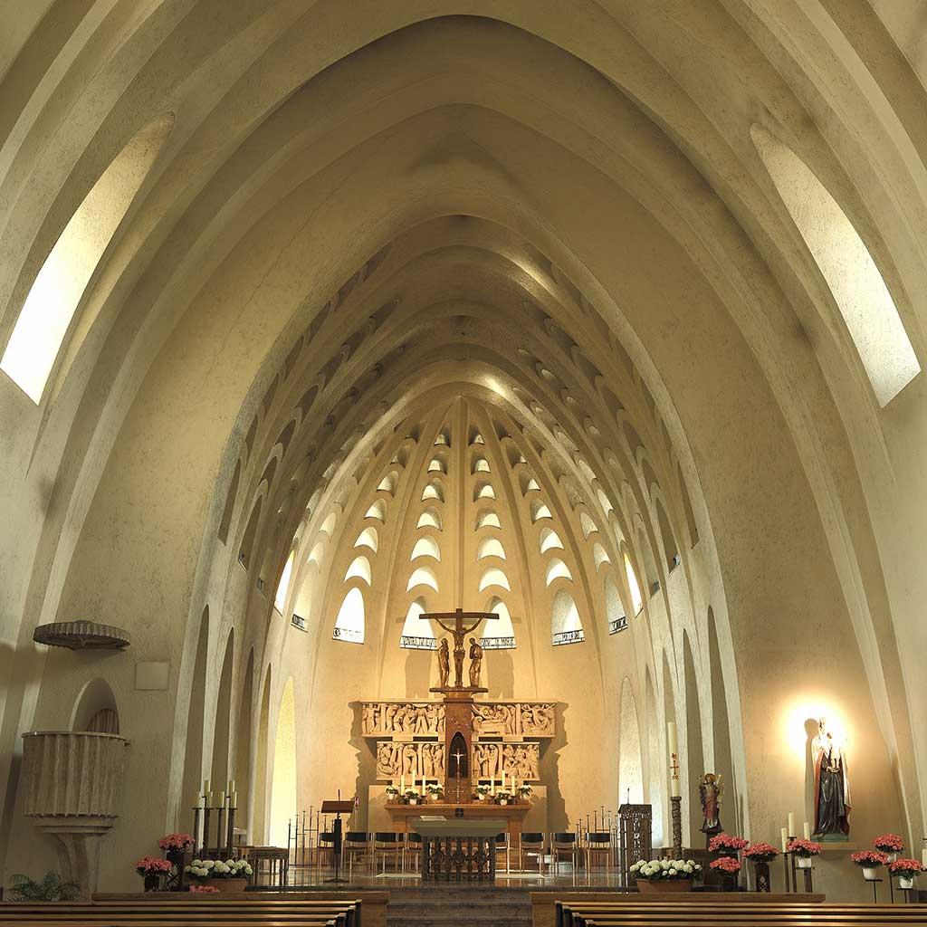 Die Pallottiner-Kirche St. Marien in Limburg