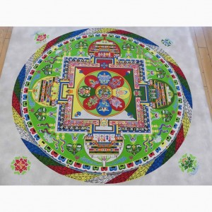 Mandala der Grünen Tara