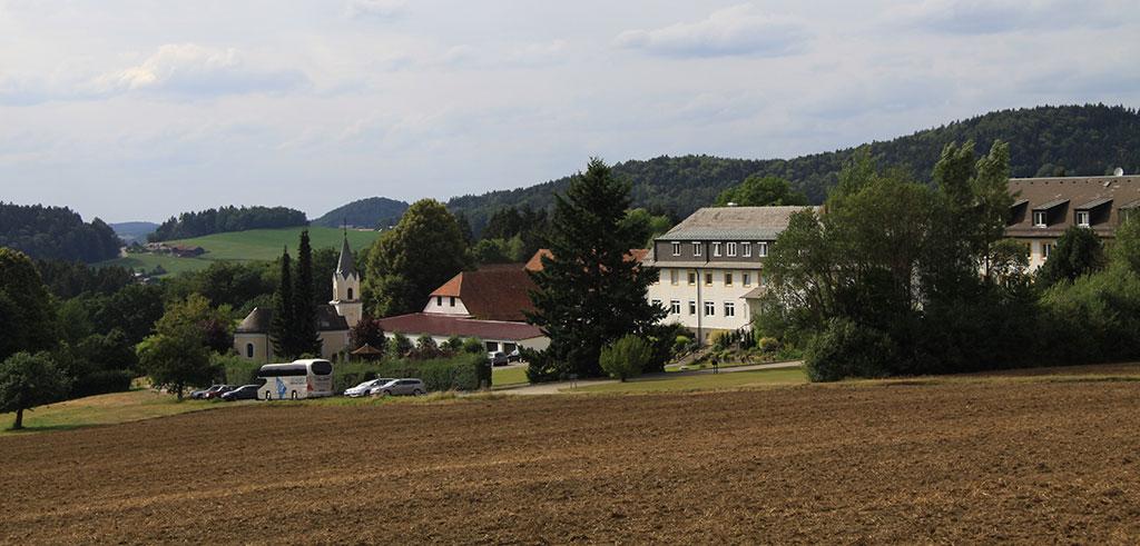 Apostolatshaus der Pallottiner in Hofstetten bei Falkenstein im Bayerischen Wald