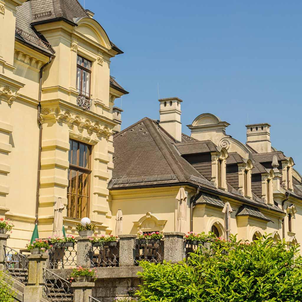 Gästehaus der Pallottiner auf dem Mönchsberg in Salzburg