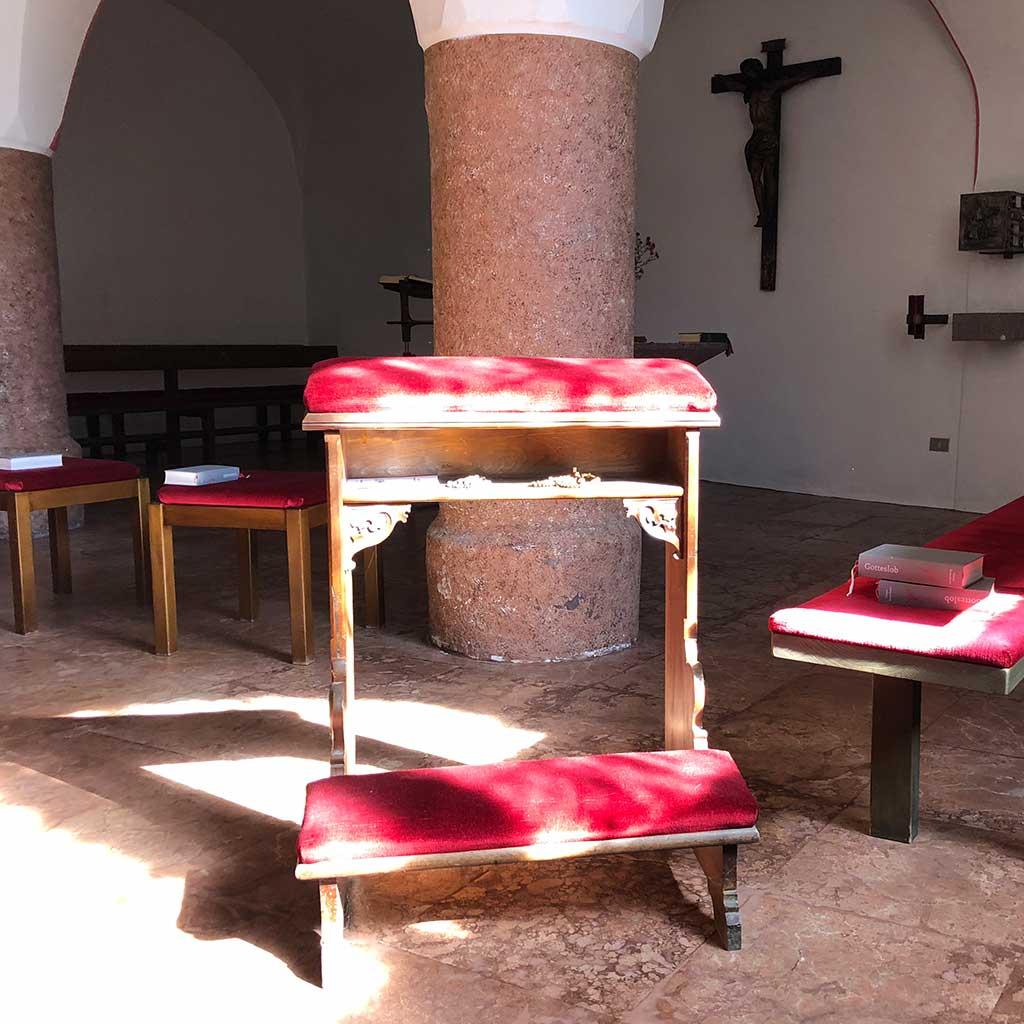 Hauskapelle Casa Pallotti in Meran