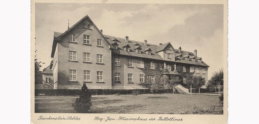 Missionshaus der Pallottiner in Falkenstein Ząbkowice Śląskie Polen