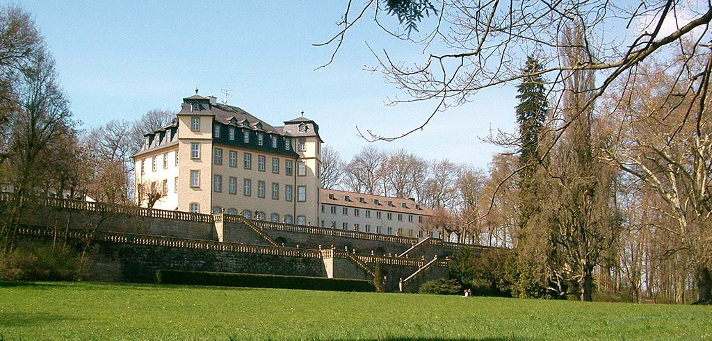 Schloss Untermerzbach im Landkreis Haßberge