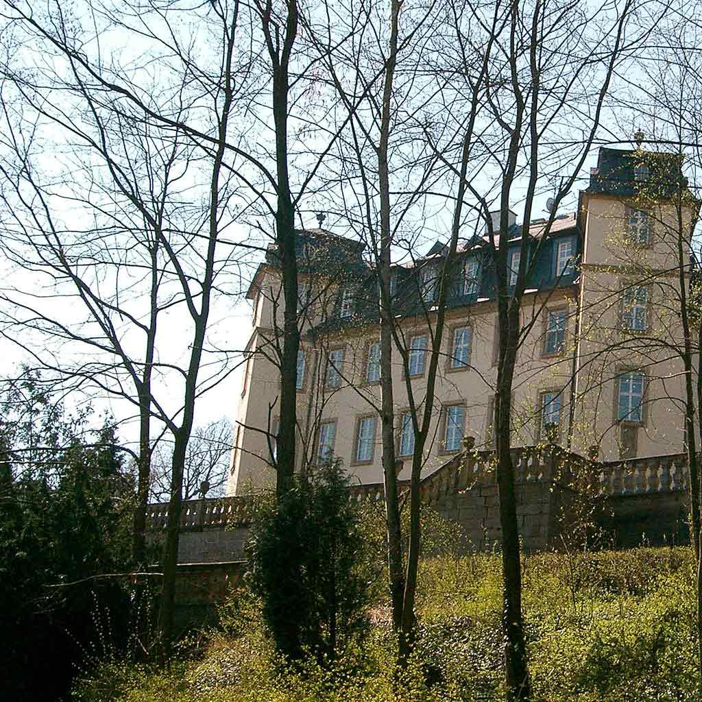 Pallottiner lebten von 1922 bis 2009 im Schloss Untermerzbach