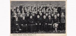 Pater Richard Henkes und seine Mitbrüder