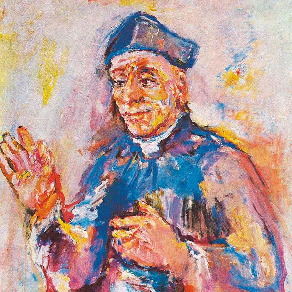 Vinzenz Pallotti Gemälde von Oskar Kokoschka