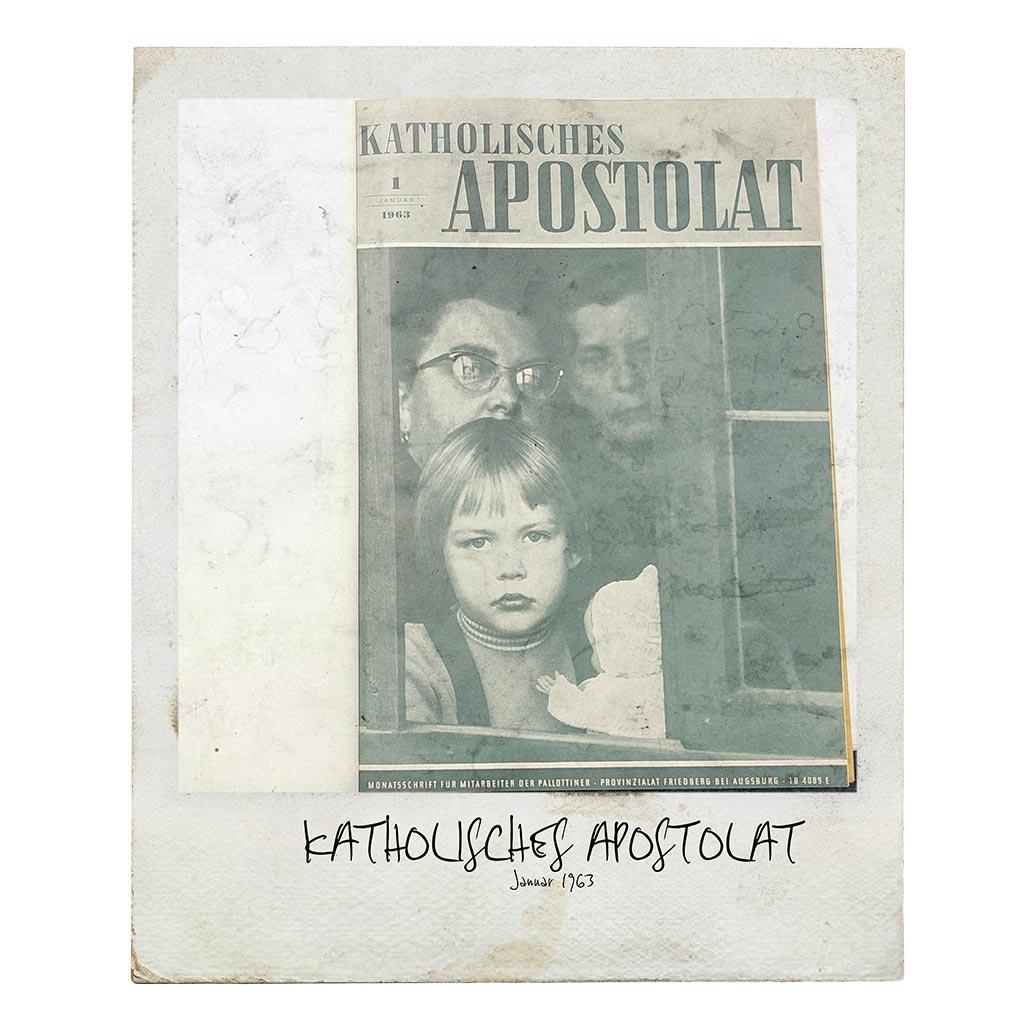 Katholisches Apostolat Titelseite Januar 1963