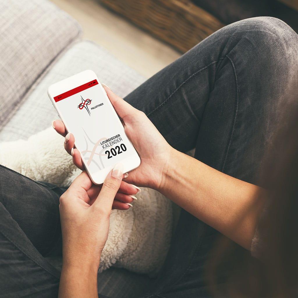 Liturgischer Abreißkalender jetzt auch als App fürs Smartphone