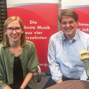 Talk bei Radio Augsburg mit Pater Steffen Brühl